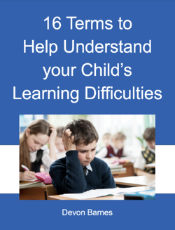16 terms to help understand your childs learning difficulties ebook cover